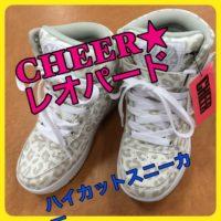 ★CHEER★レオパード★ハイカットスニーカー★