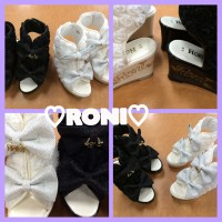 ♡RONI♡ウェッジソールドレッシーサンダル入荷しました♡