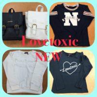 Lovetoxic♡新作入荷♡